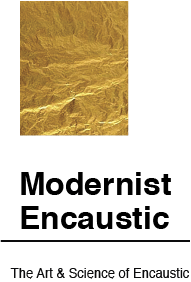 Modernist Encaustic